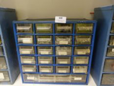 Set of Storage Drawer with Assorted Nails, Screws