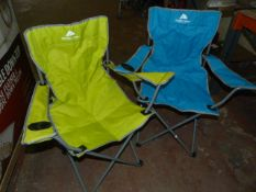 Two Ozark Trail Camping Chairs