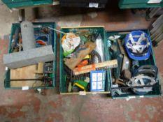 Tools, Hardhats, Car Jack, Axel Stands, Drill Bits