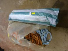 Quantity of Rope and a Wind Break