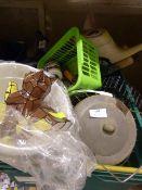 Bird Feeders, Watering Can, Assorted Garden Tools