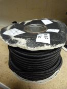 Part Used Roll of 10mm Black Shock Cord