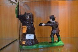 Cast Iron Money Box - Bear in a Tree