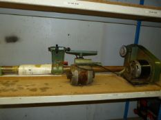 "37"" Centre to Centre Lathe with Spare Motor"