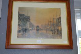 Framed Print by Grimshaw