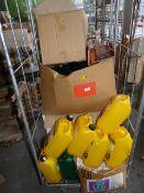 5L Bottle of Patio Wizard, Six 5L Bottle of Fungic