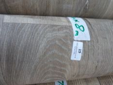 Roll of Wood Effect Lino 4x8m