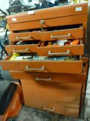 Tool Chest and Quantity of Tools