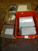 Quantity of Assorted White Tiles