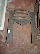Antique Cast Iron Fireplace Grate
