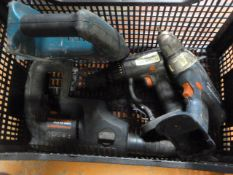 Four Cordless Drills (No Batteries or Chargers)