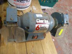 """Clarke 6"""" Bench Grinder"""
