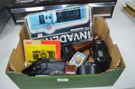 Cameras, Accessories and Invader Computer Game