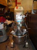 *Metcalf commercial mixer with 3 mixer attachments. Model 200-B