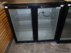 *Husky double door bottle chiller - model Cold900H 900w x 500d x 900h