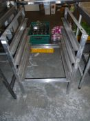 *S/S pot wash rack tray rack with 4 shelves