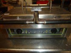 *electric double Panini press - grill area 530w x 250d