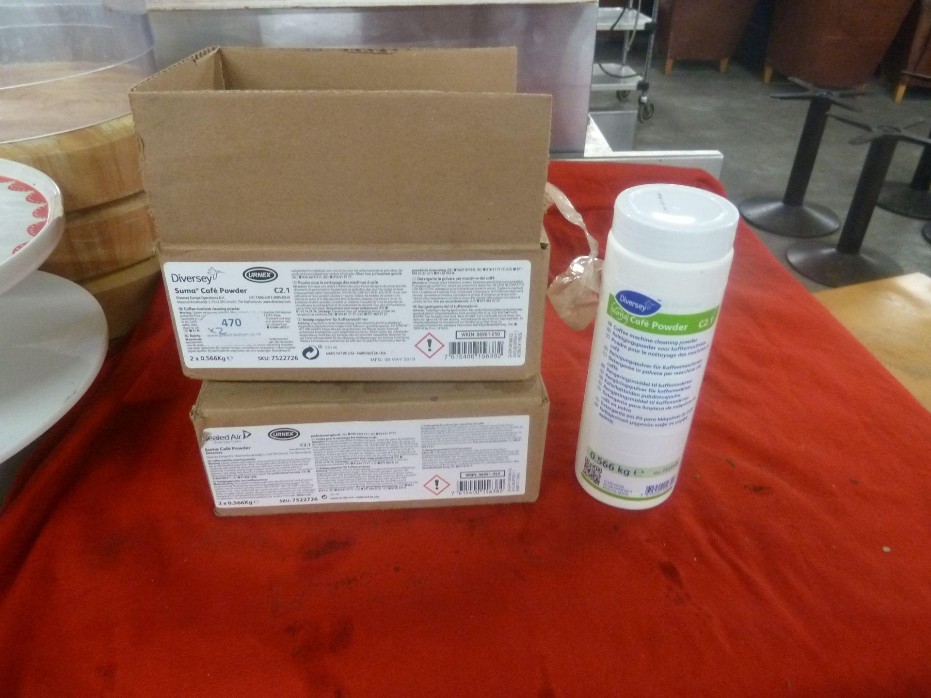*C2.1 Suma coffee machine cleaner 2 x boxes
