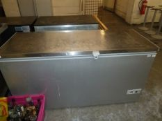 *Vestfrost S/S topped chest freezer 1560w x 650d x 840h