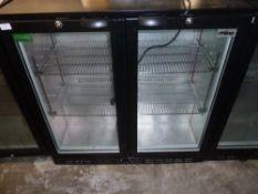 *Rhino double door bottle chiller - model Cold900H 900w x 500d x 900h