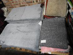 *Pallet of Carpet Tiles