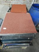 *Pallet of Assorted Carpet Tiles and Door Mats (Various Sizes and Colours)