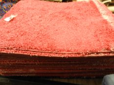 *Pallet Containing 30 Pink Shag Pile Rugs 1x1.5m