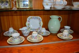 Shelly Hedgerow Design Part Tea Set 21 Pieces plus