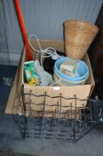 Household Goods; Mops, Buckets, Electrical Items,