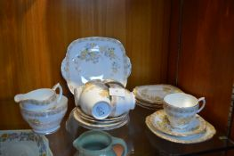 China Part Tea Set 21 Pieces