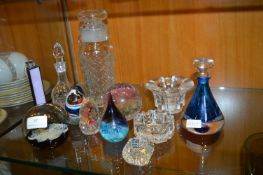 Glass Paperweights etc.