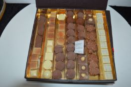 "*10"" Square Box of ~70 Handmade Belgium Chocolates"