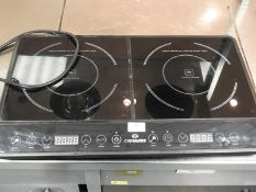 *Chef Master Double Induction Hob