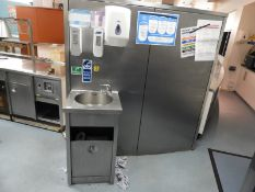 *Stainless Steel Hand Wash & Sanitising Station