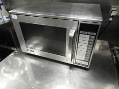 *Sharpe 1500W/R-22AT Commercial Microwave Oven