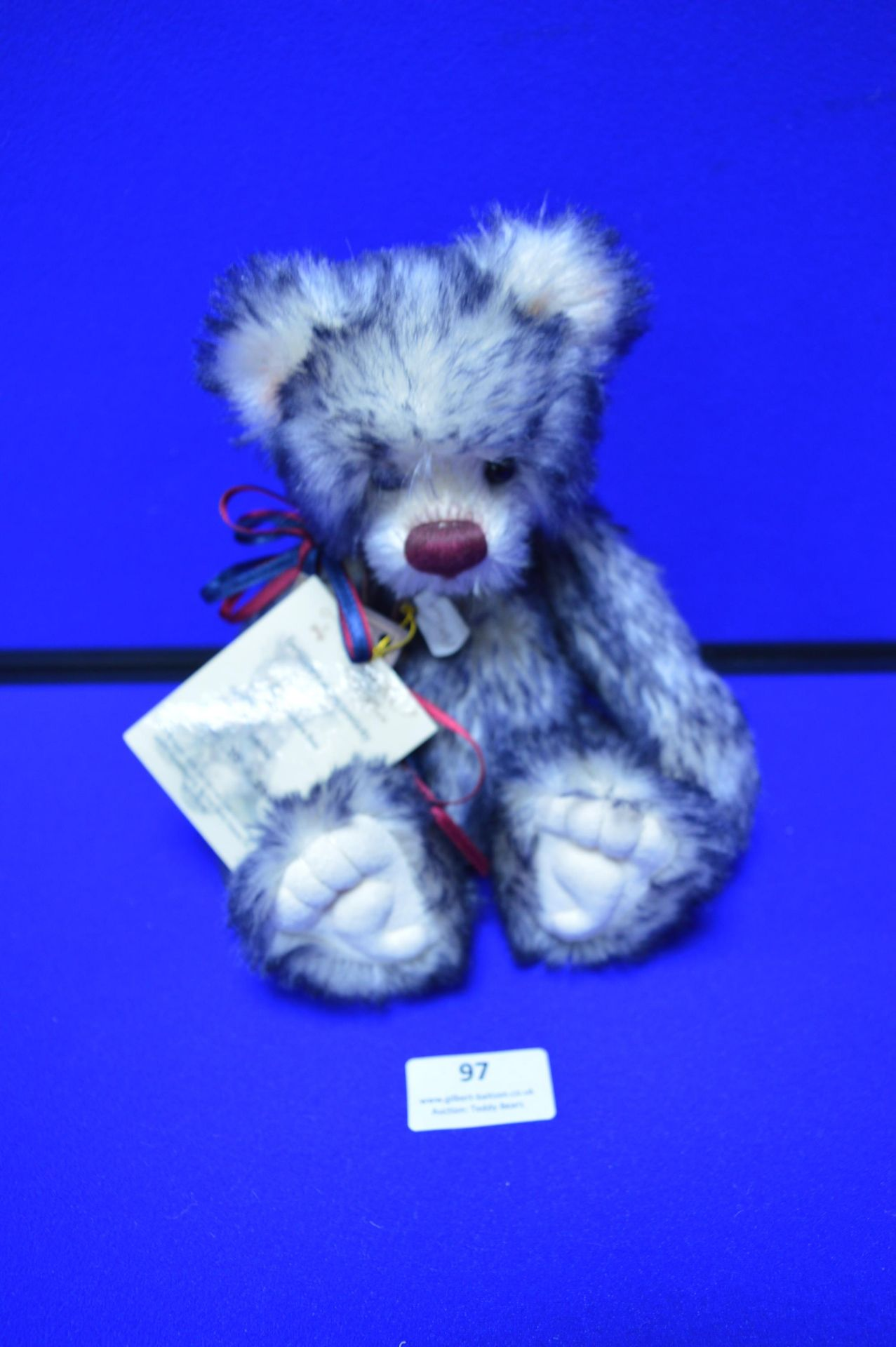 Isabelle Collection Limited Edition Blue Teddy Bear (26cm)