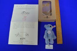 Steiff Club 2004 Light Blue Teddy Bear (7cm)