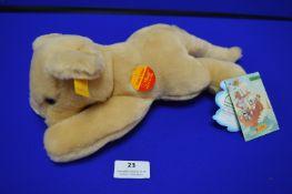 Steiff Junior Collection - Cozy Lion (length 35cm)