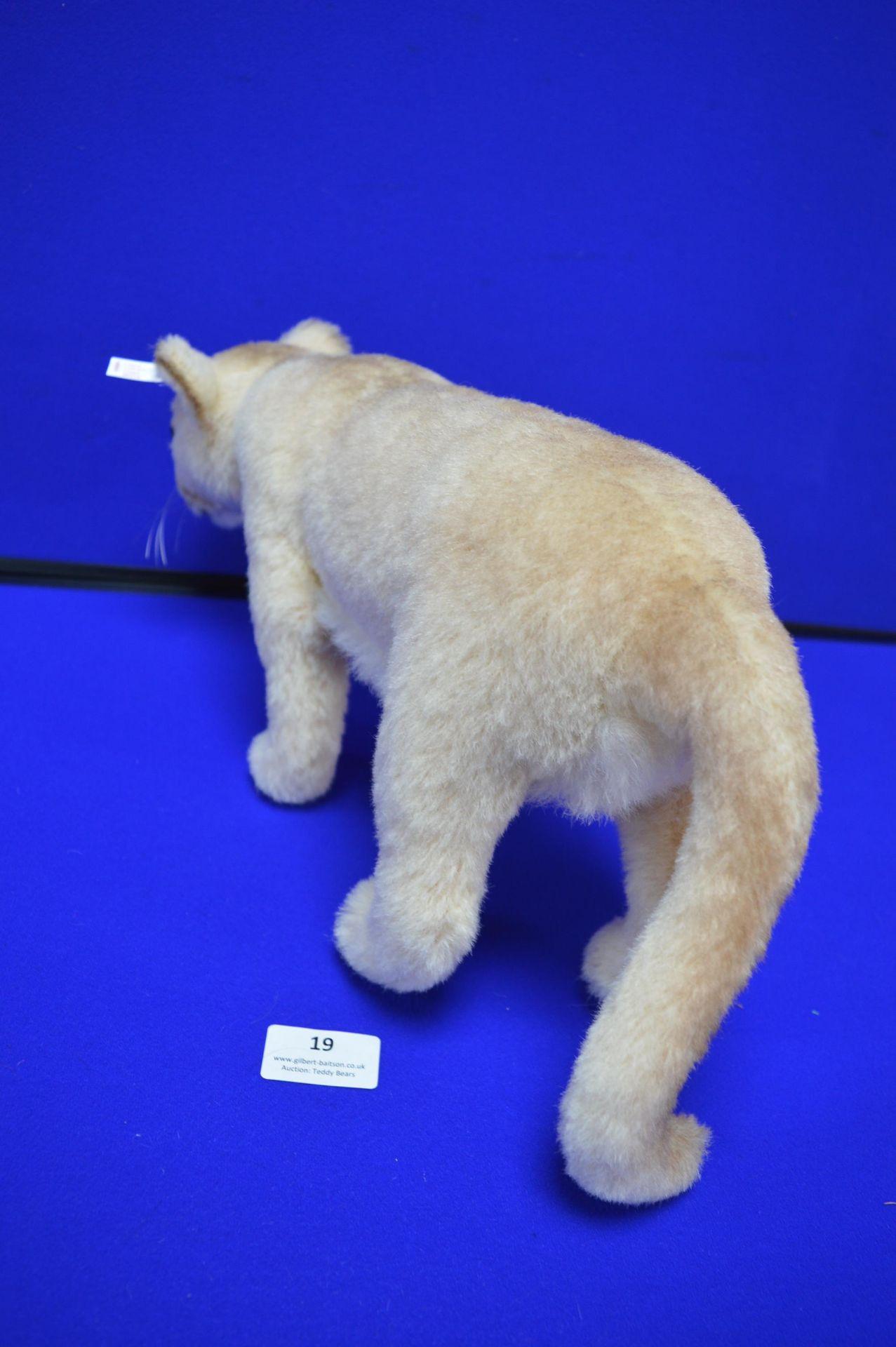 Steiff Cougar (length 40cm) - Image 3 of 3