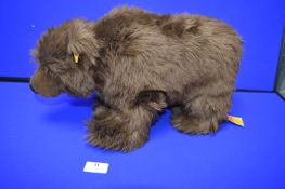 Steiff Brown Bear (length 40cm)