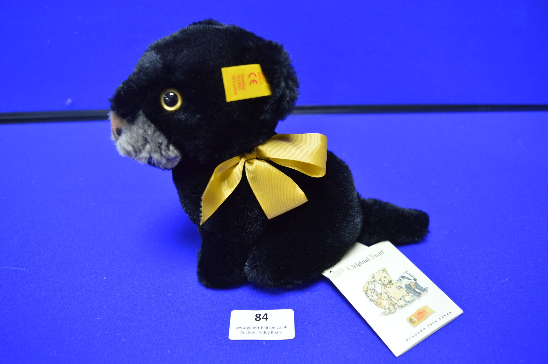 Steiff Snuffi Panther (16cm) - Image 2 of 3