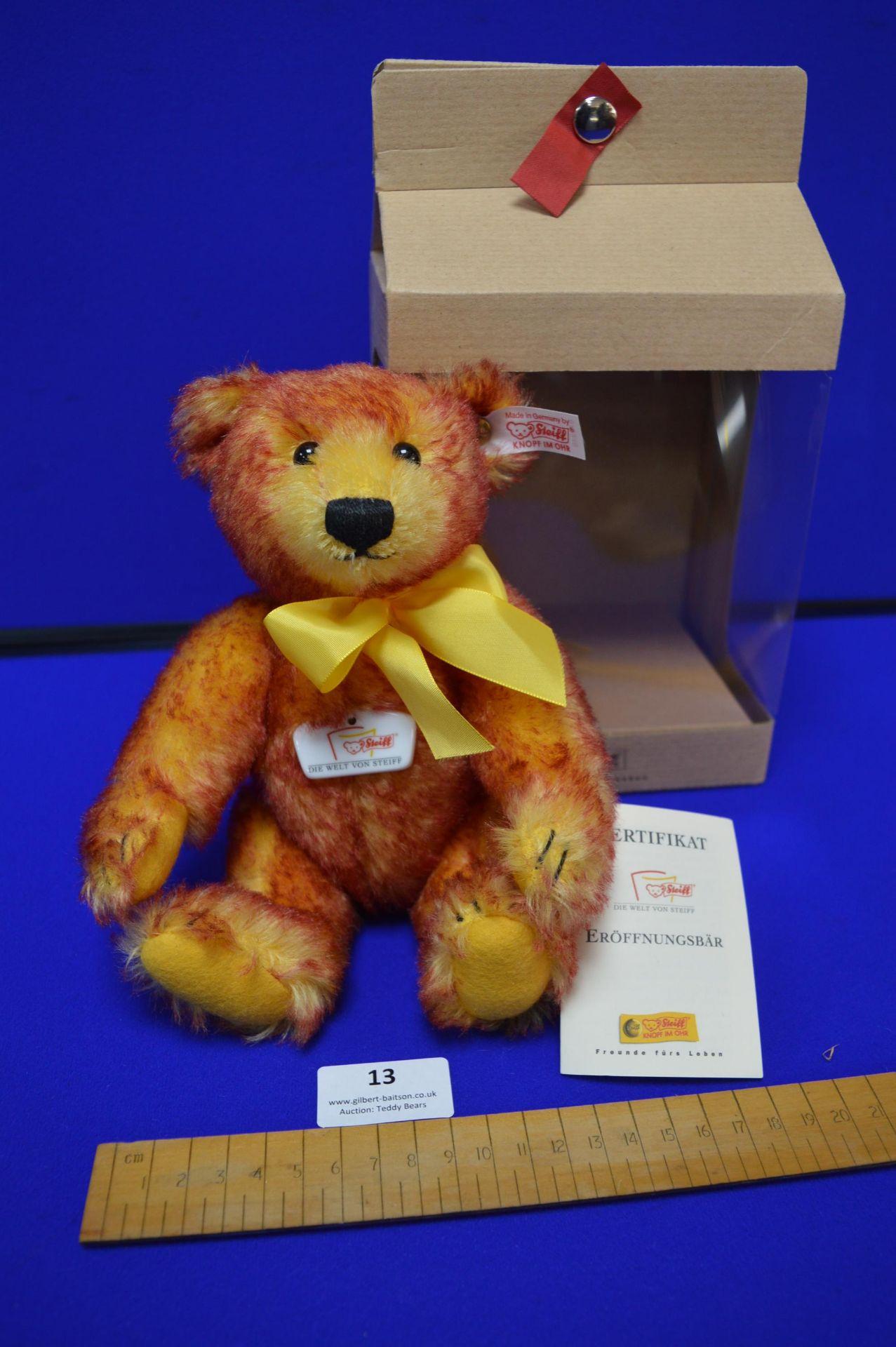 Steiff Celebration Bear (height 24cm)