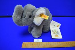 Steiff Cozy Elephant (length 21cm)