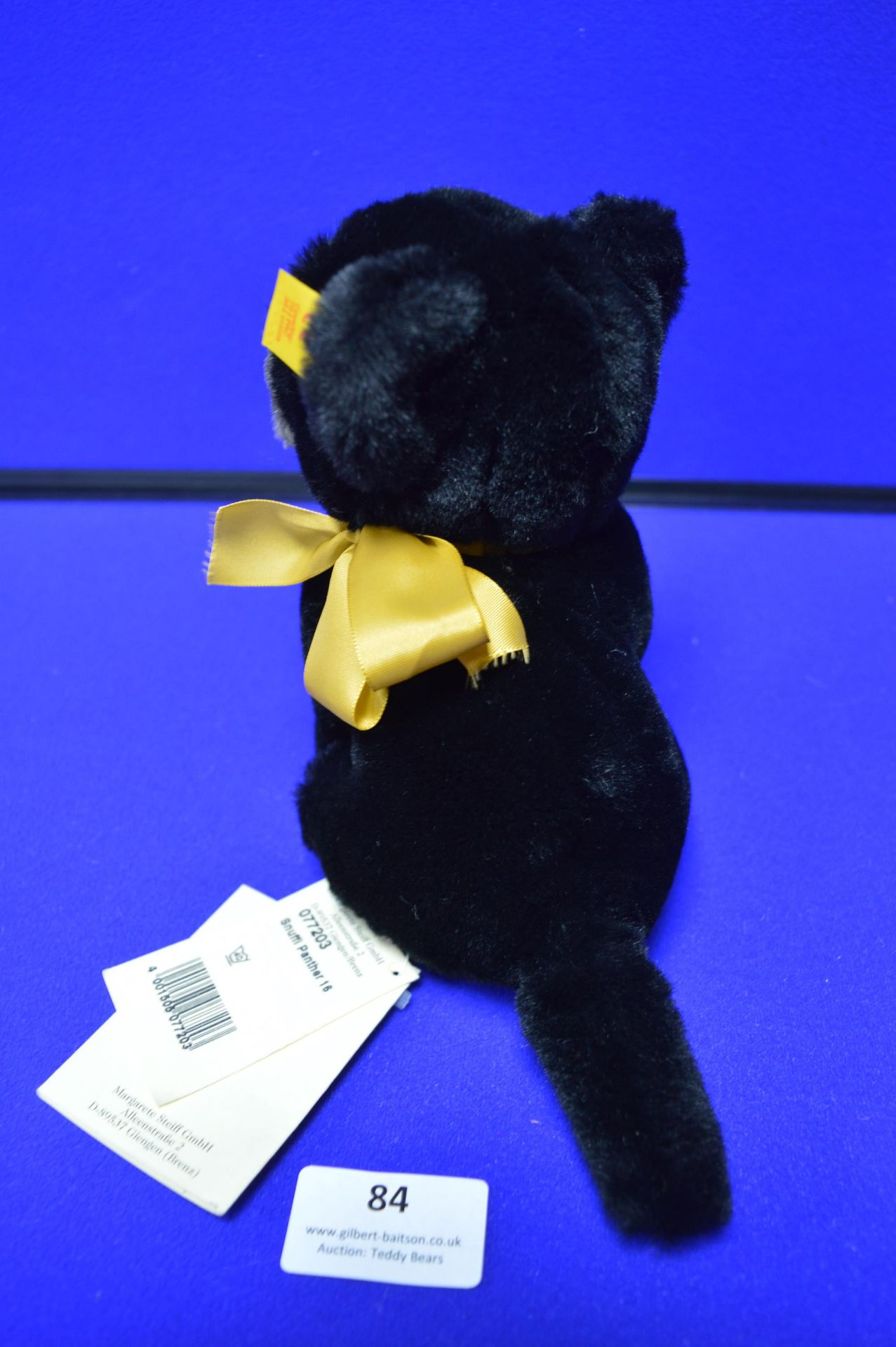 Steiff Snuffi Panther (16cm) - Image 3 of 3