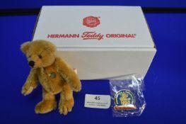 Hermann 2004 Teddy Club Bear (10cm)