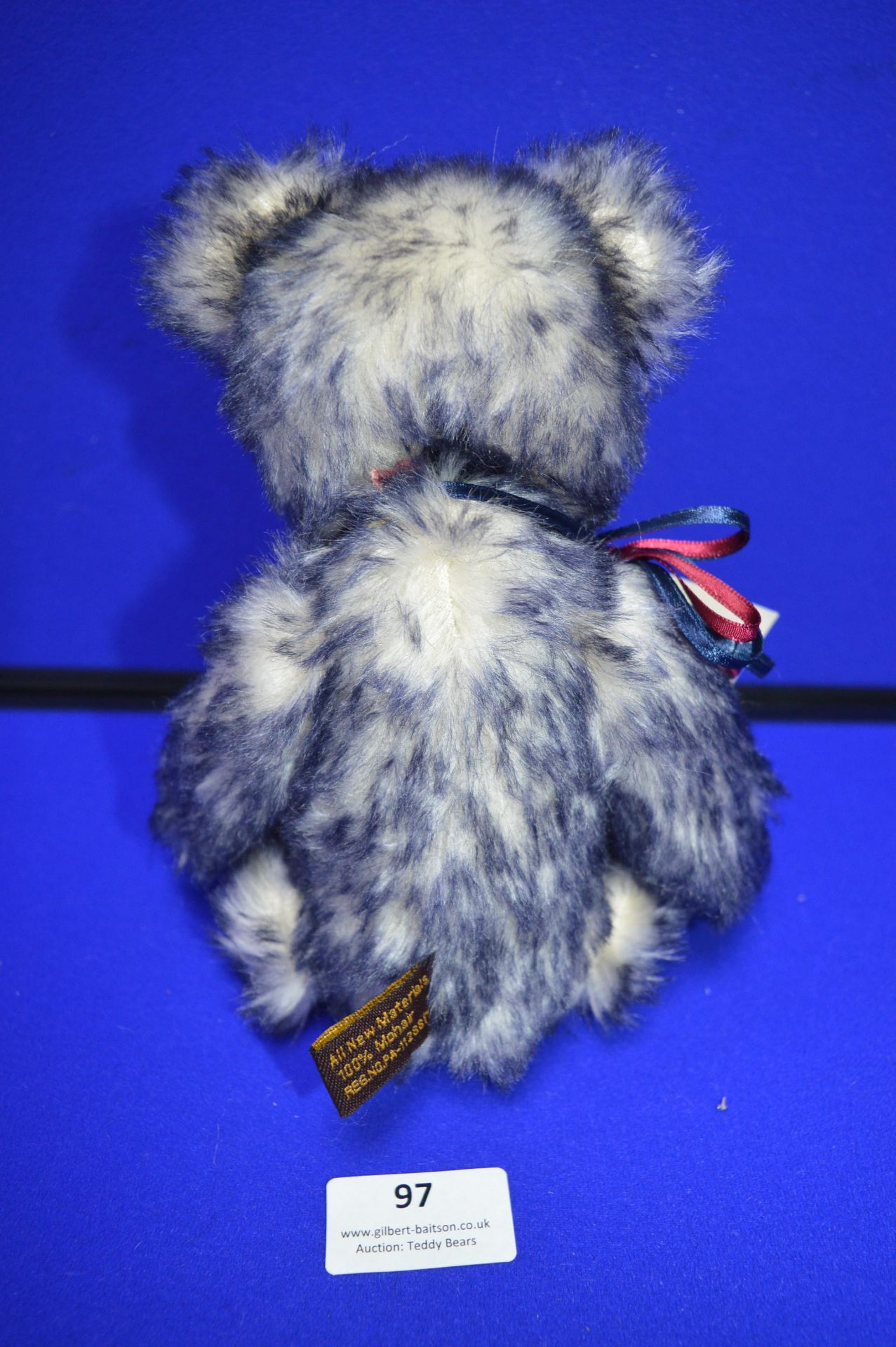 Isabelle Collection Limited Edition Blue Teddy Bear (26cm) - Image 3 of 3