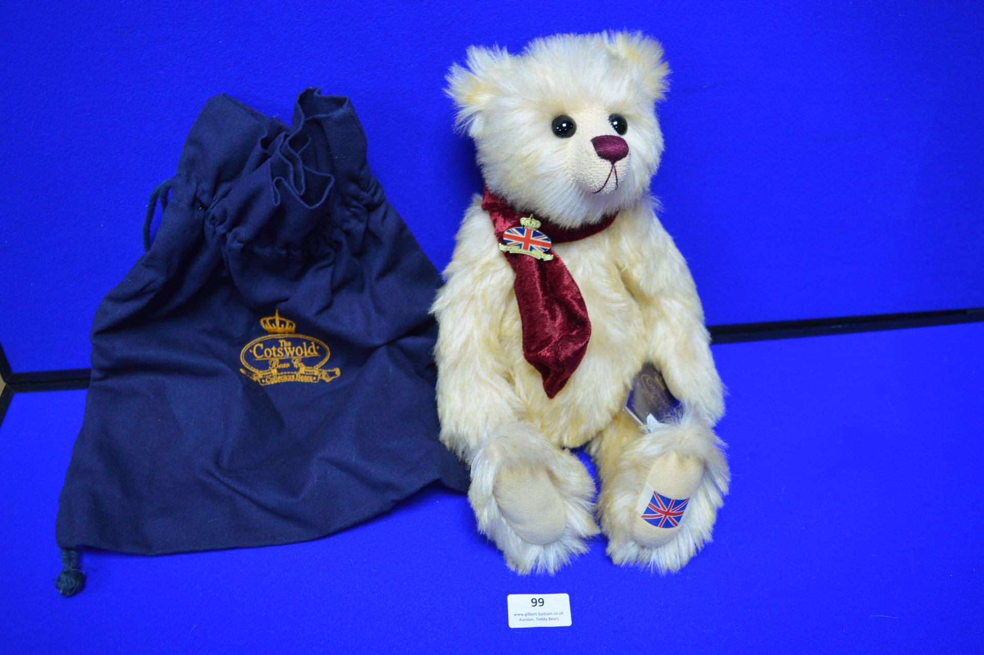 "Cotswold Bear Company ""George"" Limited Edition Teddy Bear No.1 of 1 (34cm)"