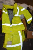 *10 Size: S Hi-Vis Waterproof jackets with Removab