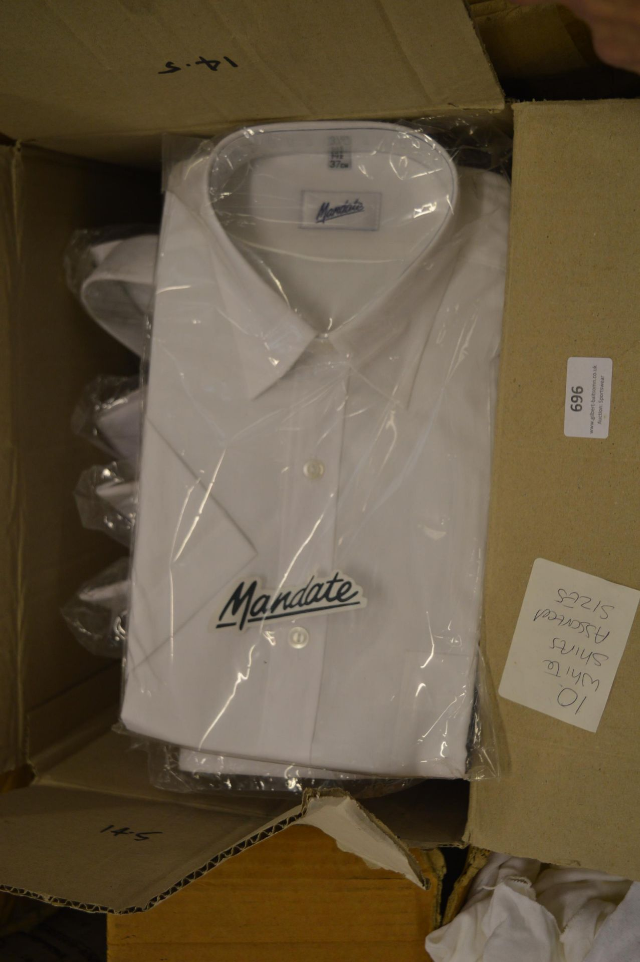 *10 Assorted White Office Shirts