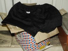 *Gent's Size: L Black Football Shorts